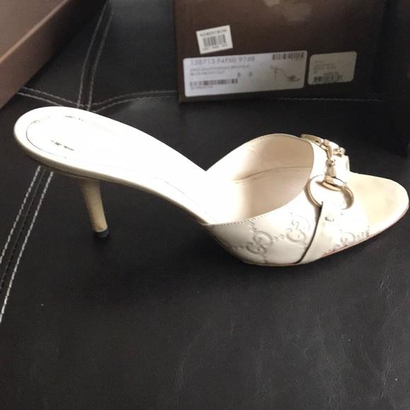 1f7e88592 Gucci Shoes - Gucci shoes Sz 8 white authentic w/ original box